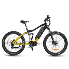 27.5'' Full Suspension Bafang Mid Drive Max Motor Best Electric Mountain Bike