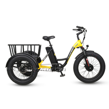 Sobowo Model N3-F Cheap Front Drive Motor Fat Tire Electric Tricycle for Sale