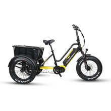Powerful 750W/1000W Bafang ULTRA Mid Motor Three Wheel Fat Tire Bicycle/ Electric Tricycle for Adults
