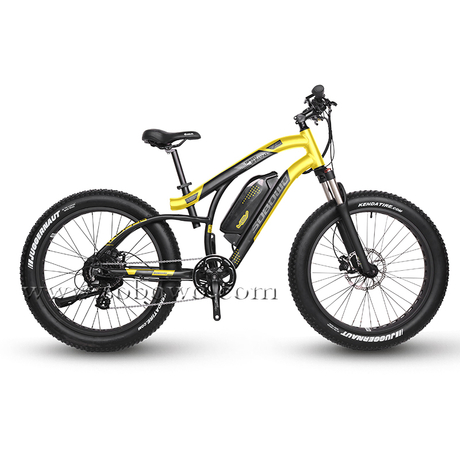 Cheap And New-designed Powerful Fat Tire Electric Bike for Sale