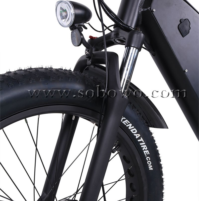 SOBOWO TT 1500W Big Power with Large Battery Fat Tire Off Road Electric Bicycle