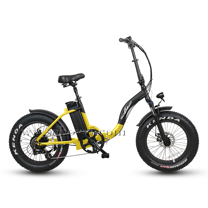 Model SF2 CE Certificated 20 Inch Fat Tire Foldable Electric Bike