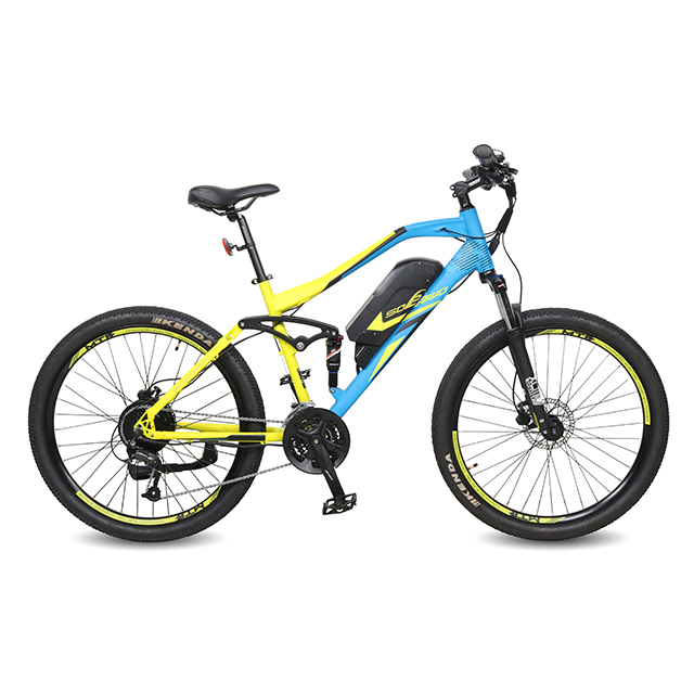 Full Suspension Electric Mountain Bike for Sale
