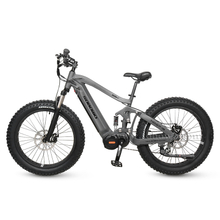All Terrain Full Suspension Mid Drive Electric Fat Bike for Sale